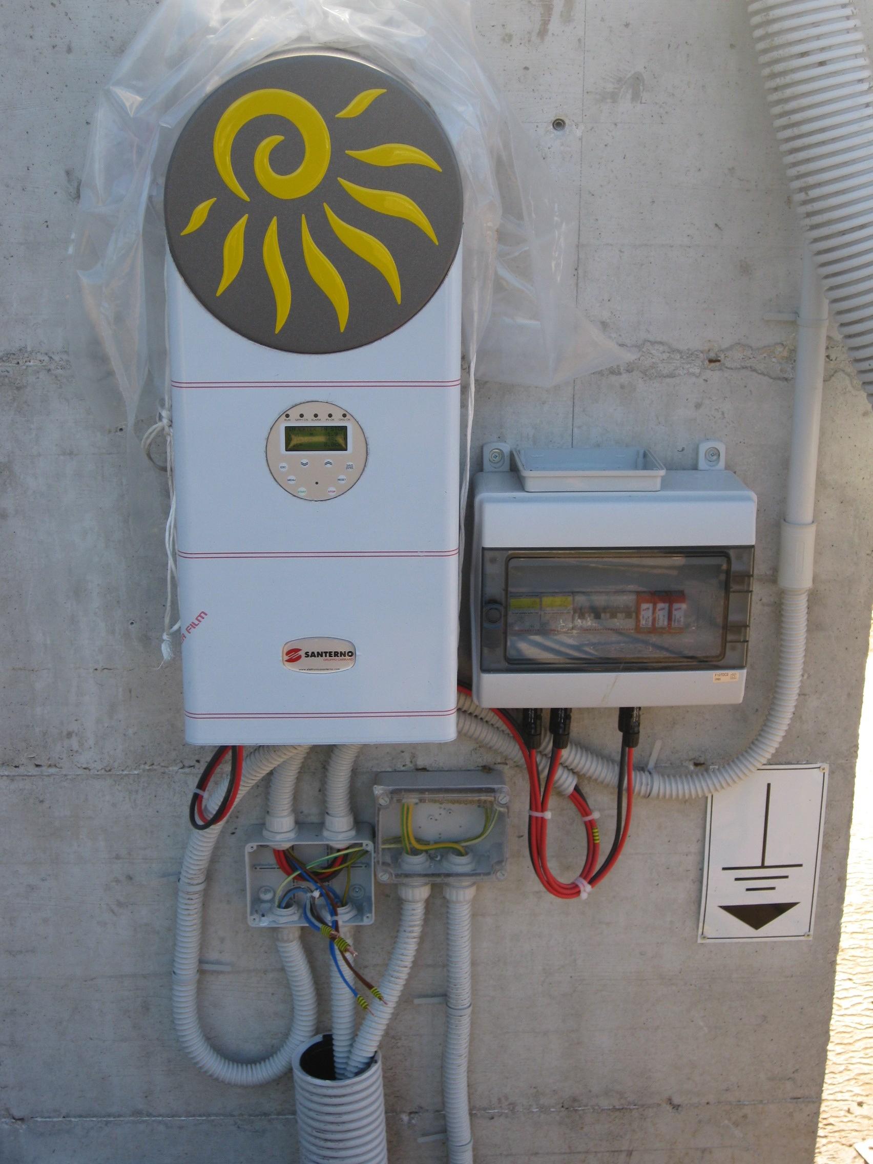 IMPIANTO N° 1 - Impianto Fotovoltaico da 6,0 kWp - con pannelli in silicio policristallino