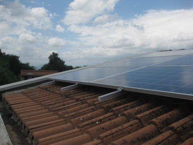 IMPIANTO N° 5 - Impianto Fotovoltaico da 5,6 kWp - con pannelli  in silicio policristallino