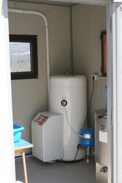 IMPIANTO N° 7 - Impianto per la Produzione Acqua Calda Sanitaria da 250 Lt - con tecnologia Termodinamica