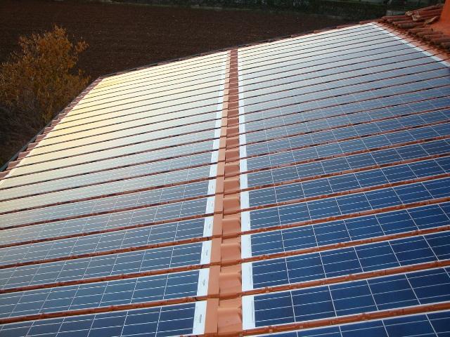 IMPIANTO N° 8 - Impianto Fotovoltaico da 3,5 kWp - con tegole fotovoltaiche